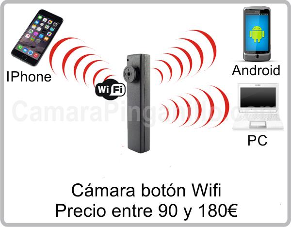 Camara Boton WiFi