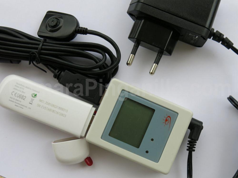 Cámara boton para exámenes servidor ip p2p wifi 3g