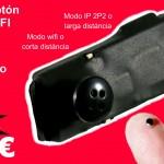 Pinganillo Cámara Botón Wifi Ip para exámenes